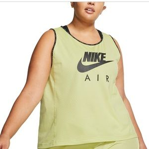 Nike Air Plus Size Workout Running Tank Top NEW